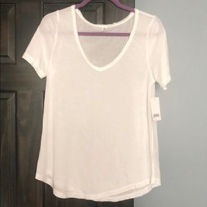 NWT BP soft white tee!